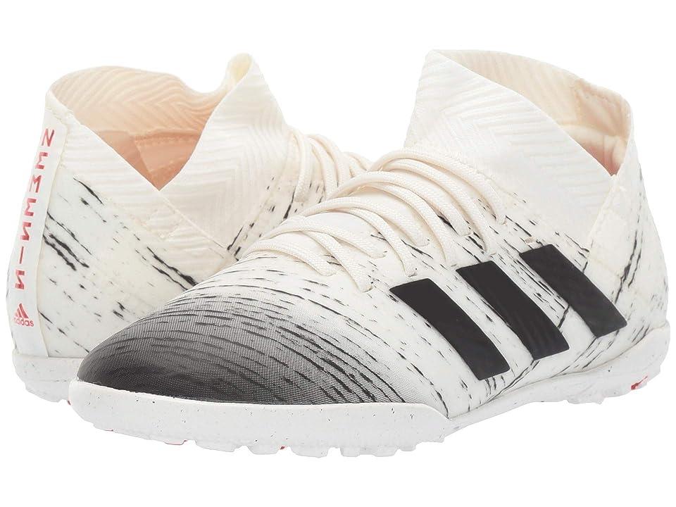 adidas Kids Nemeziz 18.3 TF Soccer (Little Kid/Big Kid) (Off White/Black/Active Red) Kids Shoes
