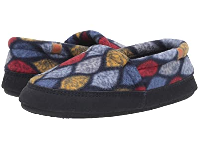 Acorn Acorn Moc (Navy Leaves) Women