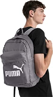 PUMA Fashion Backpack for Men - Polyester, Grey (75752)