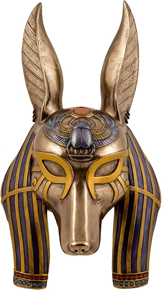 Veronese - maschera di dio egiziano anubis