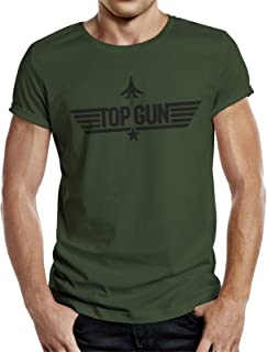 Top Gun Camiseta con licencia original de la película Tom Cruise.