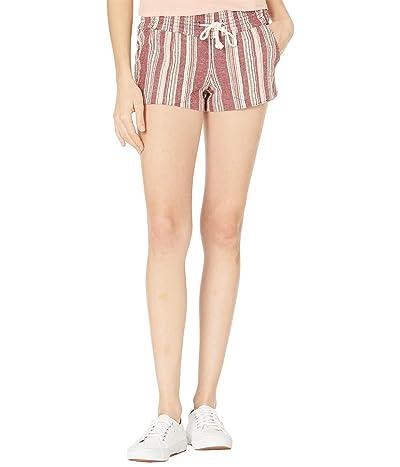 Roxy Oceanside Yarn-Dyed Shorts (Andorra Brianna Stripes) Women