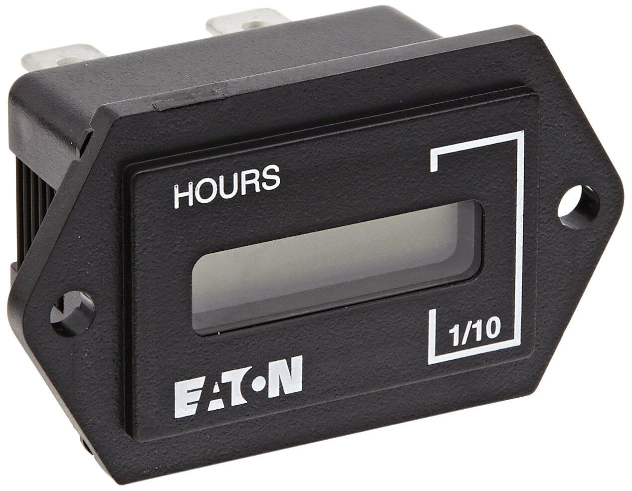 Popular popular Eaton E42DI2448230 LCD Elapsed Timer Philadelphia Mall S Rectangular Hour Meters