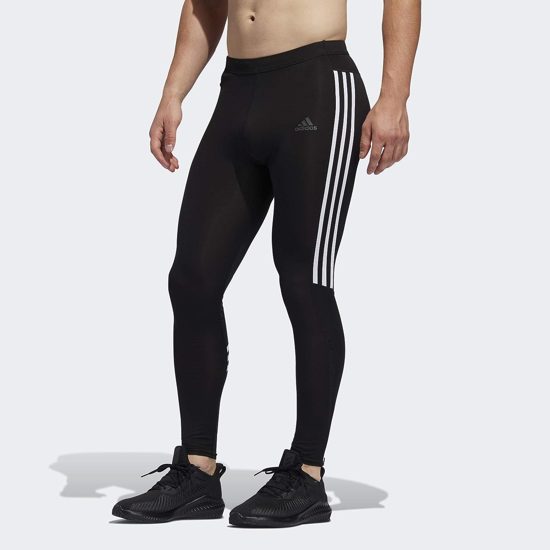 adidas Men's Run Tights Max 73% OFF It 3-Stripes Discount mail order