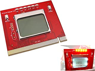 Kalea-Informatique - Tarjeta de diagnóstico PCI para placa madre (pantalla LCD, mando a distancia, interfaz PC PCI), uso profesional, versión 2012