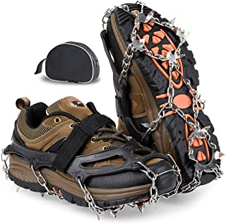 Best snow ice grips for boots Reviews