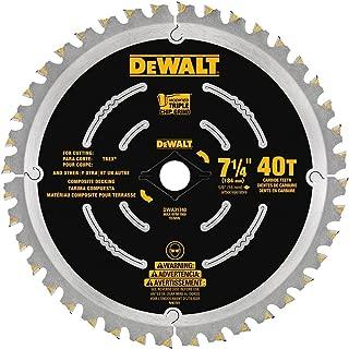 DEWALT DWA31740 Composite Decking Blade, 7-1/4