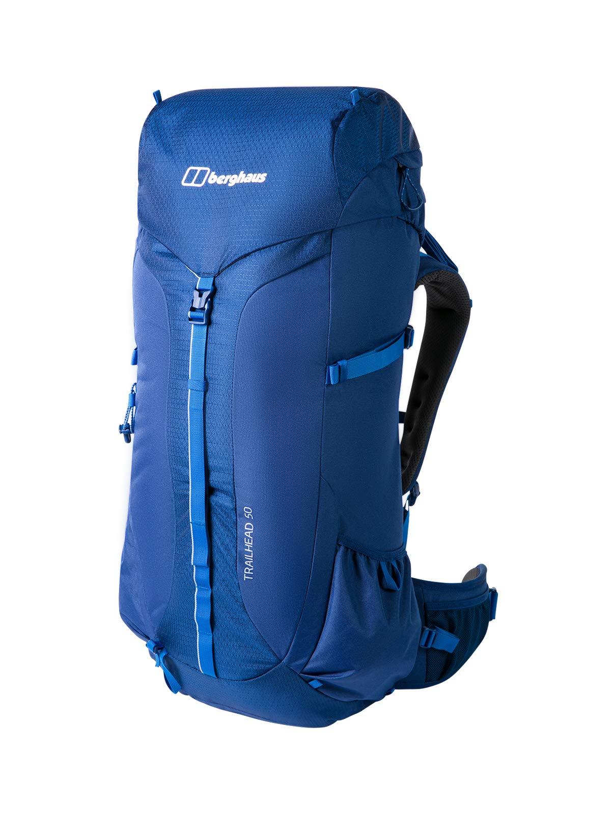 Berghaus Unisex-Erwachsene Trailhead 2.0 50 Litre Rucksack Blau (Deep Water)