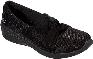 Skechers Womens 23760 Knotty Shimmer 9 Black