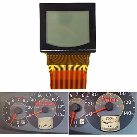 uxcell LCD Dashboard Instrument Display Pixel Repair Ribbon Cable for Nissan Quest