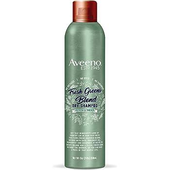 Aveeno Fresh Greens Blend Volumizing Dry Shampoo, 5 Ounce