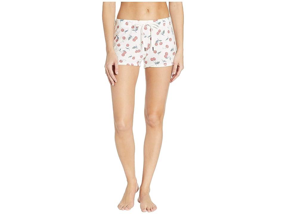 P.J. Salvage Mon Cheri Shorts (Ivory) Women