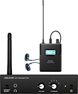 Cocopark Anleon S2 UHF IEM Wireless Stereo in Ear Monitor System for Recording Studio Live Performance 561-568Mhz