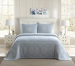 Ellison Jules Jacquard Bedspread, King, Blue