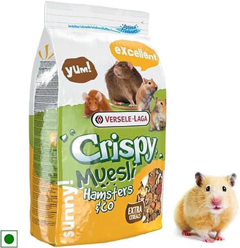 Versele Laga Hamsters and Co Crispy Muesli Food (1kg)