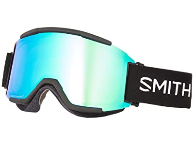 Smith Optics Squad Goggle (Black/Chromapop Everyday Green Mirror/Yellow) Goggles