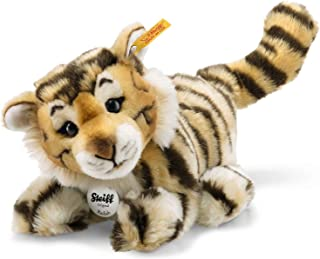 Steiff Radjah Baby Dangling Tiger Plush, Striped