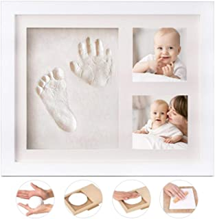 Babyprints Newborn Baby Handprint and Footprint Photo Frame Kit,Perfect for Baby Boy Gifts,Top Baby Girl Gifts, Baby Showe...