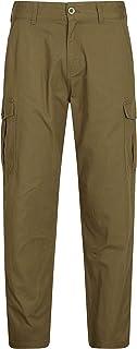 Mountain Warehouse Lakeside, pantaloni cargo da uomo - in cotone al 100%, estivi, con protezione UV, leggeri, traspiranti,...
