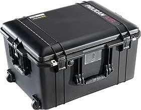 CVPKG Presents - Black Pelican 1607 No Foam Air case. Comes with Wheels.