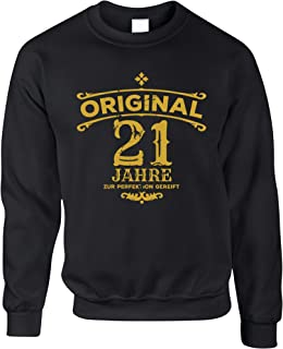 21st Birthday Jumper Original Aged Years Twenty One