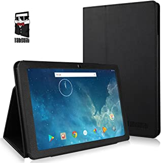 TabSuit Dragon Touch X10 10.1 Inch PU Leather Case Cover Stand for Dragon Touch X10 10.1 Version Tablet (Not Compatible Dragon Touch X10 10.6 inch Tablet)