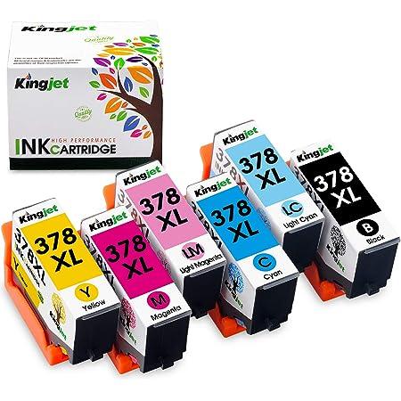Epson Multipack 6 Colours 378xl 478xl Claria Photo Hd Ink Tintenpatrone Expression Photo Hd Xp 15000 C13t379d4020 Tintenstrahl Schwarz Cyan Magenta Rot Gelb Bürobedarf Schreibwaren
