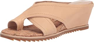 Donald J Pliner Women's Wedge Sandal, Sand, 9.5