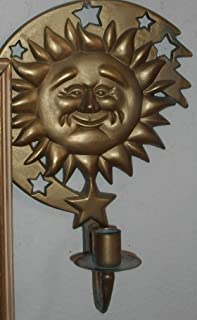 Partylite Celestial Sun Sconce Candle Holder