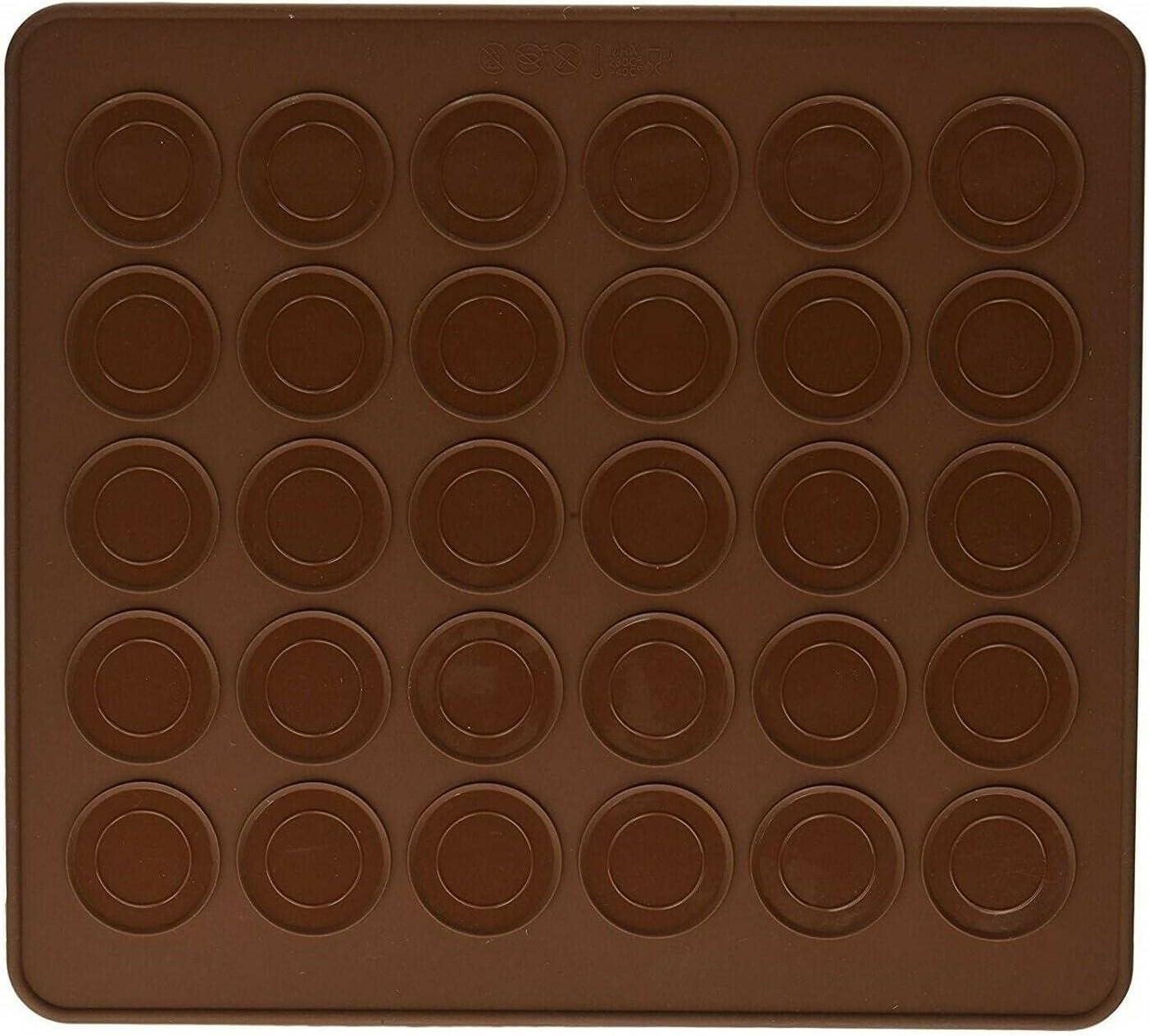2 Pack Silicon Baking Mat Bak Chocolate San Antonio Mall Sheet Cookie Max 44% OFF Baking-mats