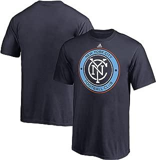 adidas New York City FC MLS Youth Primary Logo T-Shirt Navy
