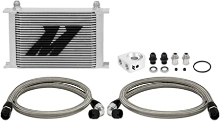 Allstar ALL26706 15 Length x 7.5 High Universal Transmission Cooler Kit with 3//8 Barbed Fitting