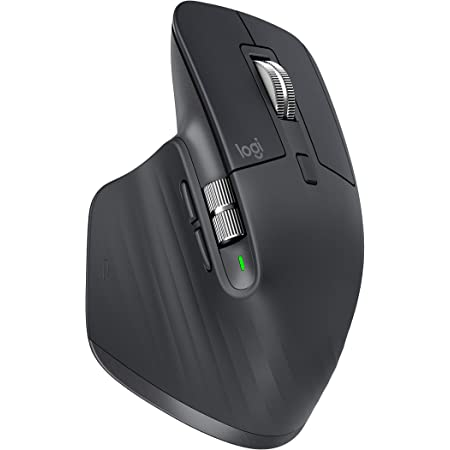 Logitech MX Master 3 Advanced Wireless Mouse (Renewed)