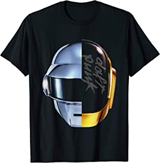 Robot Daft Heads T-shirt Punk Music Feels T-Shirt