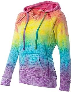 pastel rainbow hoodie