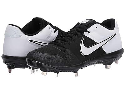 Nike Alpha Huarache Varsity Low (Black/White) Men