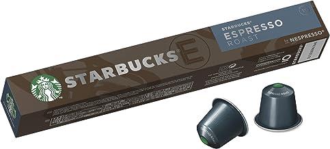 Starbucks by Nespresso Espresso Roast Coffee Pods 10 Capsules