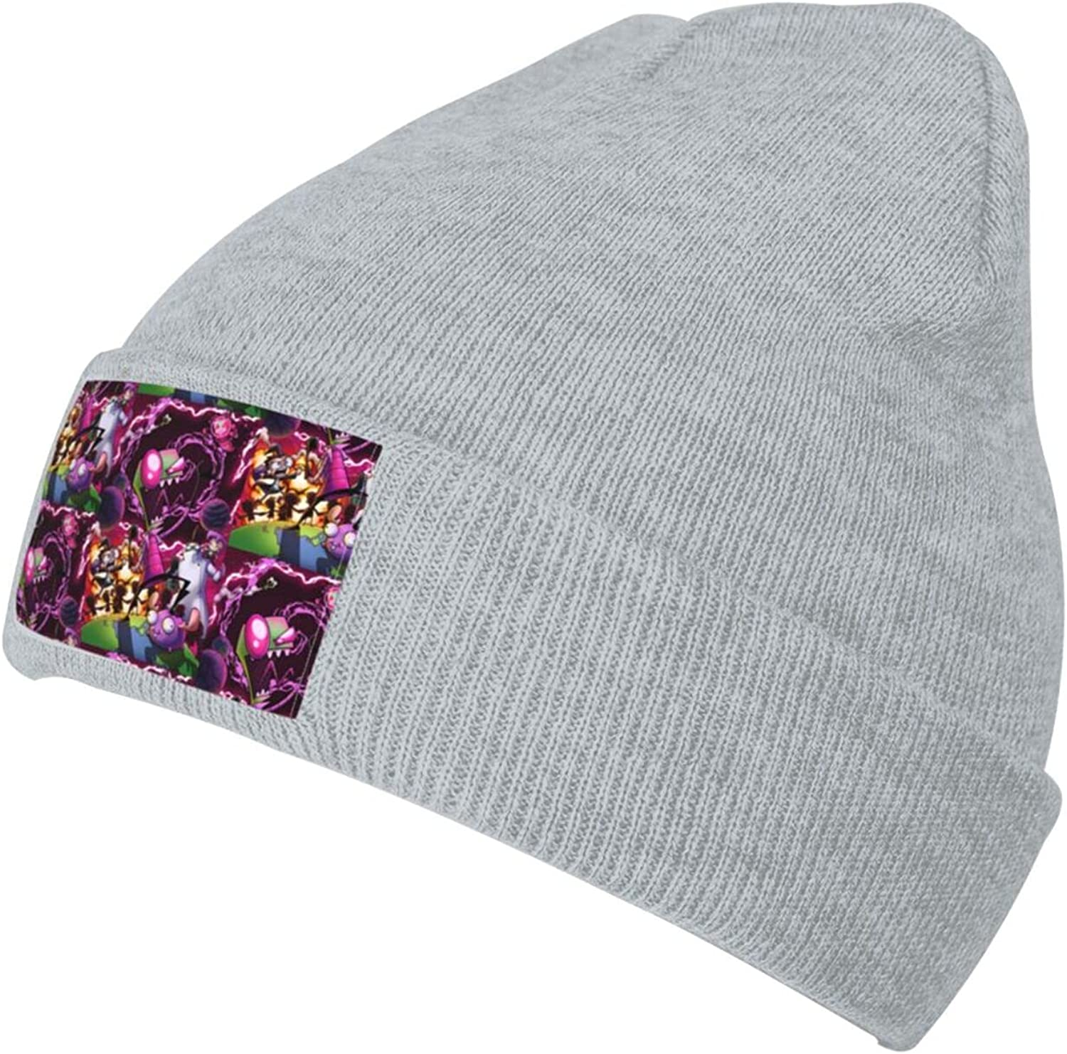 Ruporch Invader-Zim Super beauty product restock quality top Knit Hat Beanie Adult fo Cap Unisex 40% OFF Cheap Sale Hats