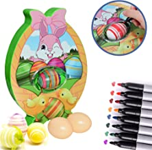 Easter Egg Decorating Kits, Painting Eggs Kit for Boys and Girls, Bunny Spin Machine Egg, Easter Arts and Crafts for Kids ...