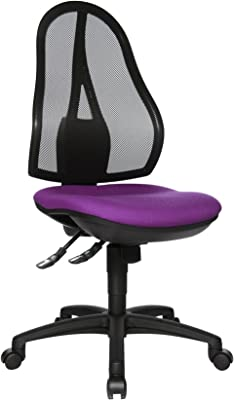 Topstar OP200G03 Open Point SY- Silla de Escritorio de Oficina, Color Morado