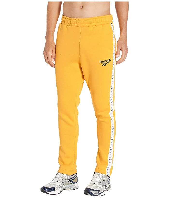Reebok  Classic Vector Performance Jogger (Toxic Yellow) Mens Casual Pants