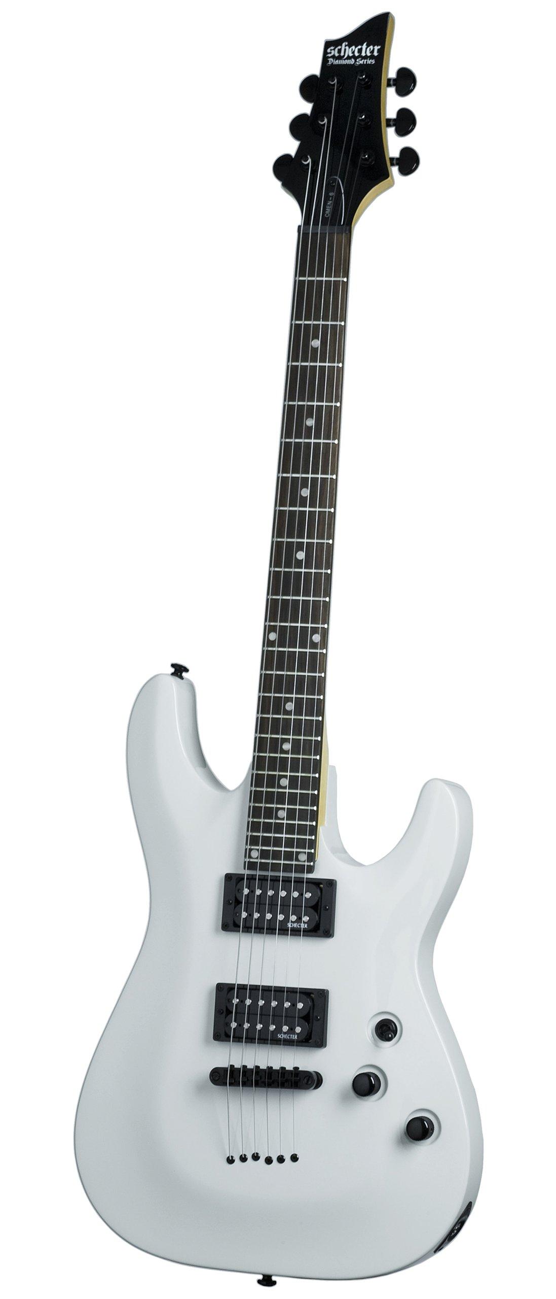 Cheap Schecter Omen-6 Electric Guitar (Gloss White) Black Friday & Cyber Monday 2019