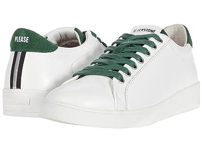 Blackstone Low Sneaker Gum Bottom RL84 (White Greener Pastures) Women