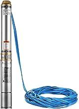 Pression 16,8 bar Puissance 2200W Avec c/âble 20 m Antirouille ECD Germany 4 Pompe pour puits profonds 230V D/ébit 4000 l//h Pompe submersible /à eau pour puits ou forage Protection IP44