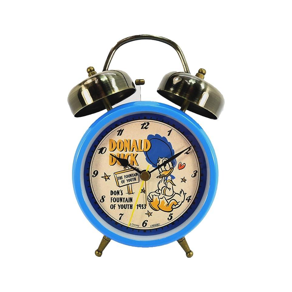 救急車オーナメント準備する目覚し時計 ドナルドダック 置時計 ツインベルクロック 目覚まし時計 ML-744 ディズニー