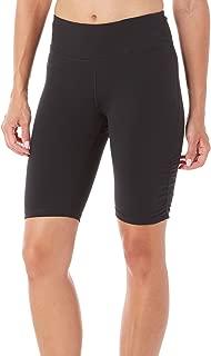 GAIAM 女式 yoga 短款性能氨纶压缩打底裤短裤