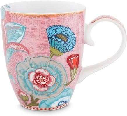 Preisvergleich für Pip Studio Mug large Spring to Life | pink | 350 ml