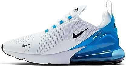Nike Air Max 270 Mens Sneakers AH8050-110, White/Black-Photo Blue-Pure Platinum, Size US 9.5