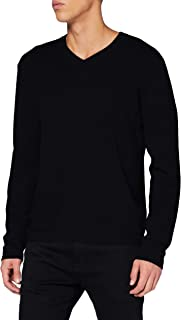 FALKE Men's V-ausschnitt Sweatshirt Men's V-neck sweatshirt.