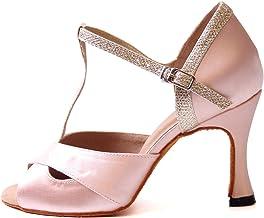 Amazon.es: zapatos baile latino Rosa